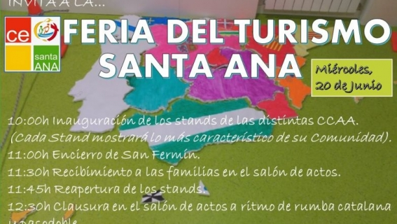 """II FERIA DEL TURISMO """"SANTA ANA"""""""